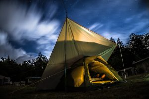 Telai per campeggio